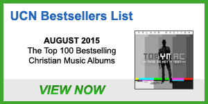 UCN Albums Bestsellers List - August 2015