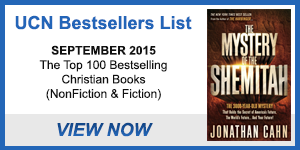 UCN Books Bestsellers List – September 2015