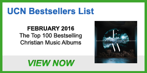 UCN Albums Bestsellers List - February 2016